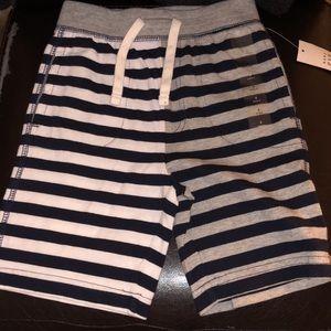 Gap Toddler boy striped short NWT msrp$16.95